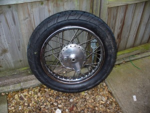 Clean Wheel